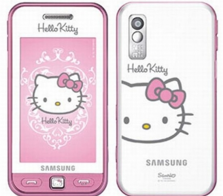 Mobil Samsung Star Hello Kitty