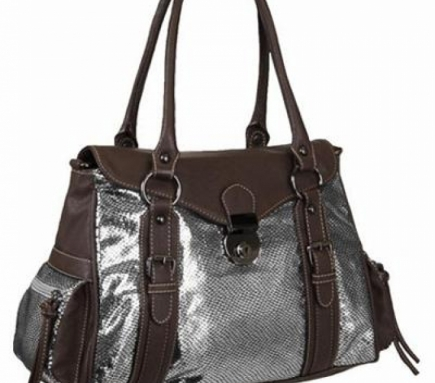 Kabelka Style Cailin Silver-Brown